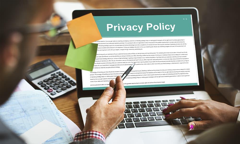 プライバシーポリシー作成上の留意点